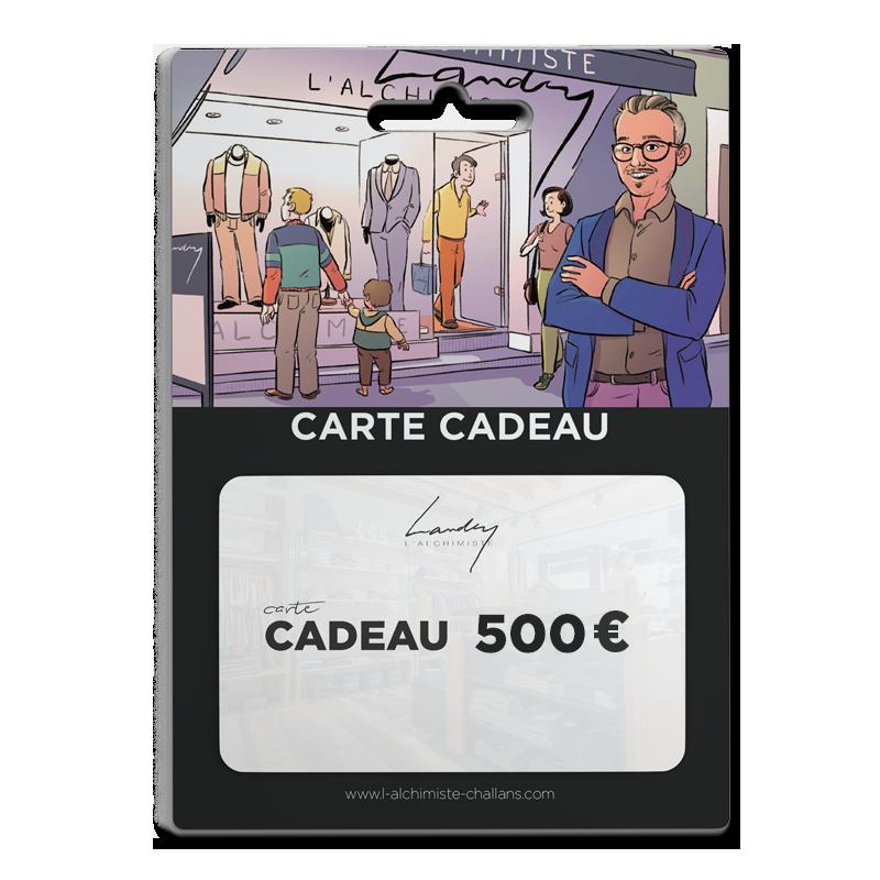 Carte Cadeau 500 €